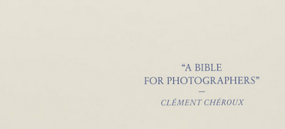 A Bible For Photographers