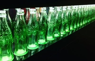 The Coca-Cola Bottle Art Tour