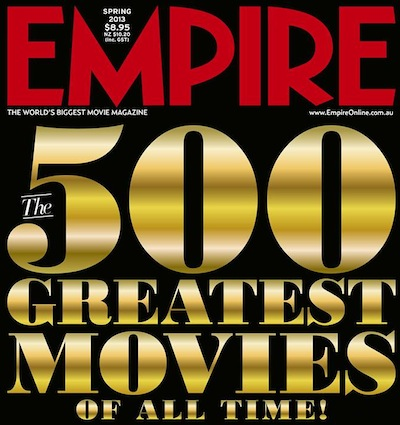 The 500 Greatest Movies Of All Time!