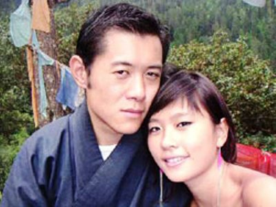 Jigme and mystery woman