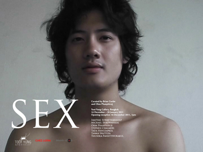 Sex, a group exhibition at Toot Yung Gallery in Bangkok, opened yesterday ...