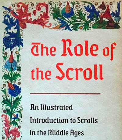 The Role of the Scroll
