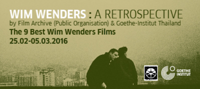 Wim Wenders: A Retrospective