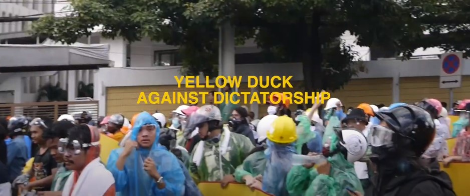 Yellow Duck Against Dictatorship
