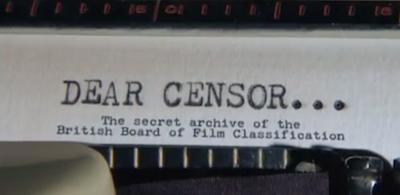 Dear Censor...