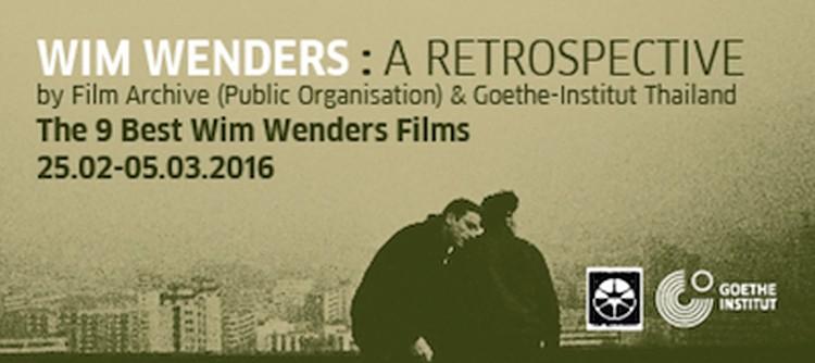 Wim Wenders: A Retrospective
