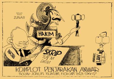 Komplot Penjarakan Anwar